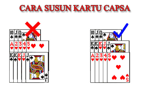 Cara Main Capsa Susun 13 Cards IDNPlay Clubpokeronline - cara susun kartu - www.clubpokeronline.com