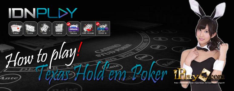 Cara Main Poker IDNPlay Clubpokeronline