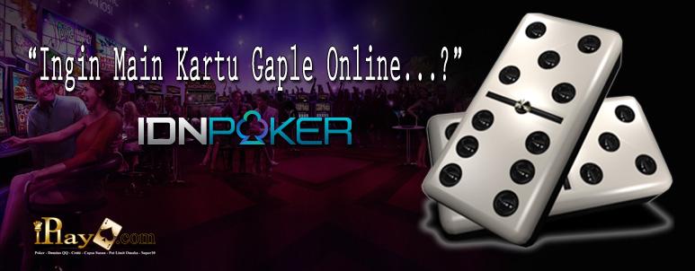Judi Kartu Gaple Online Indonesia IDNPlay