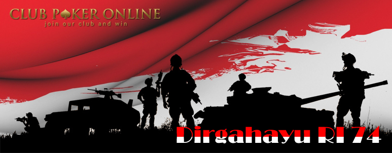 Bonus 17 Agustus Kemerdekaan Republik Indonesia - Club Poker Online Indonesia IDNPlay - IDNPoker